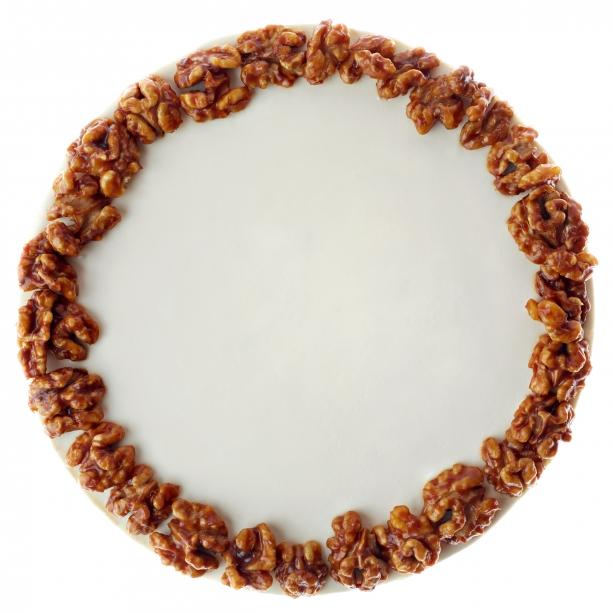 Cheesecake z vlašských orechov