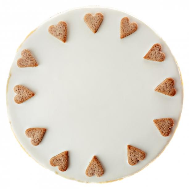 Perníkový cheesecake s Baileys a bielou čokoládou