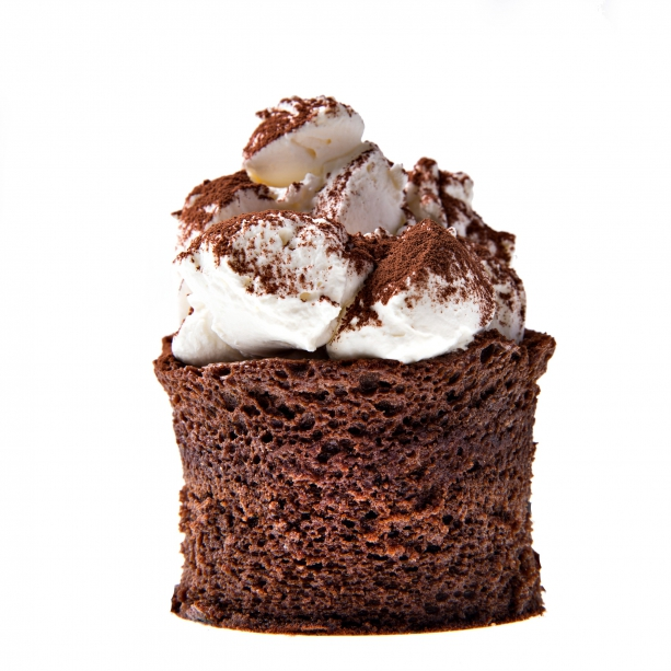 Obláčikový koláč z čokolády