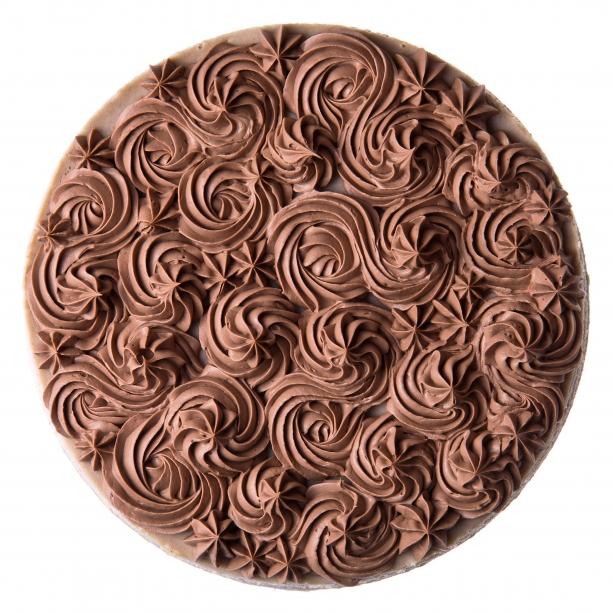 Gaštanový cheesecake s parížskym krémom