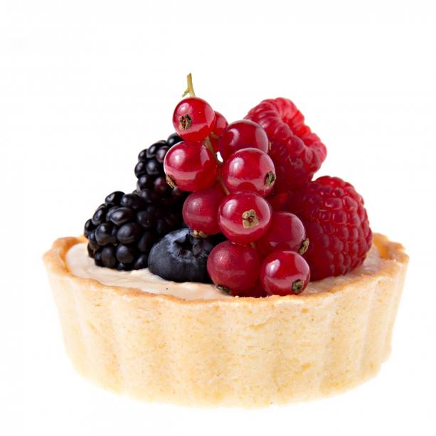 Tartaletka s vanilkovým krémom