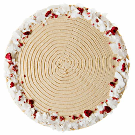 Kokosovo - karamelova raw torta